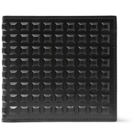 Balenciaga Studded Leather Billfold Wallet