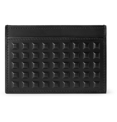 Balenciaga Studded Leather Card Holder