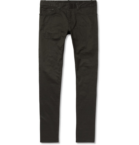 Balenciaga Slim-Fit Cotton-Blend Jeans