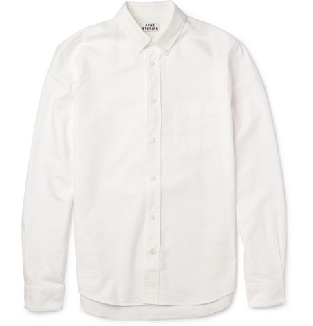 Acne Studios Isherwood Can Woven-Cotton Shirt