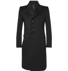 Burberry Prorsum Slim-Fit Bonded Cashmere-Blend Coat