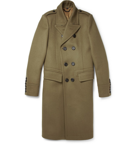 Burberry Prorsum Slim-Fit Wool-Blend Coat