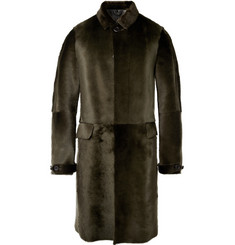 Burberry Prorsum Shearling Coat