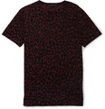 Burberry Prorsum - Animal-Print Jersey Crew Neck T-Shirt