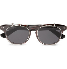 Illesteva Lenox Detachable Front Square-Frame Sunglasses