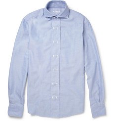 Michael Bastian Slim Fit Double-Placket Cotton Oxford Shirt