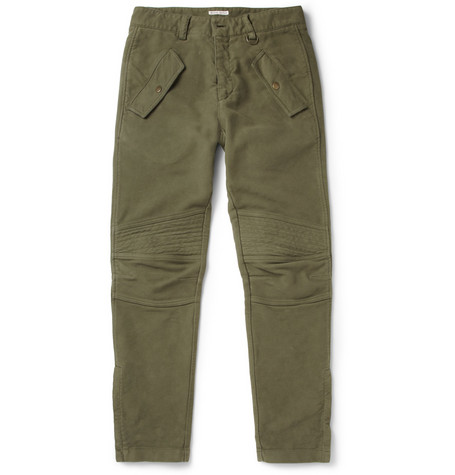 Michael Bastian Slim-Fit Moleskin Biker Trousers