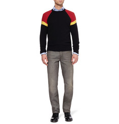 Michael Bastian Raglan-Sleeved Cashmere Sweater