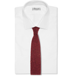 Michael Bastian Wool and Cashmere-Blend Knitted Tie