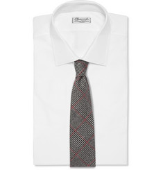 Michael Bastian Prince Of Wales Check Wool Tie