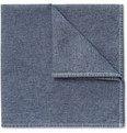 Michael Bastian Chambray Pocket Square