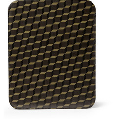 Pierre Hardy Printed Textured-Leather iPad Sleeve