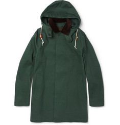 Mackintosh Dunoon Bonded-Cotton Hooded Rain Coat