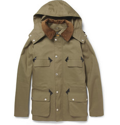 Mackintosh Anstruther Handmade Bonded-Cotton Hooded Rain Coat