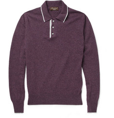 Doriani Long-Sleeved Cashmere Polo Shirt