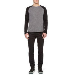 Alexander Wang Raglan Sleeve Merino Wool Sweater