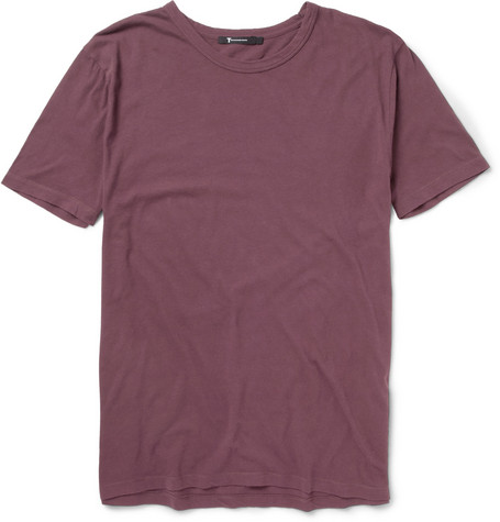 Alexander Wang Brushed Cotton-Jersey T-Shirt