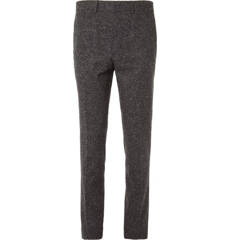 McQ Alexander McQueen Slim-Fit Donegal Wool-Blend Trousers