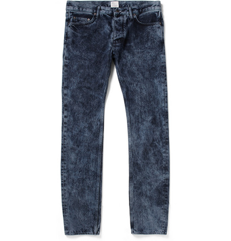 Jean.Machine J.M-1 Bleach-Wash Slim-Fit Jeans