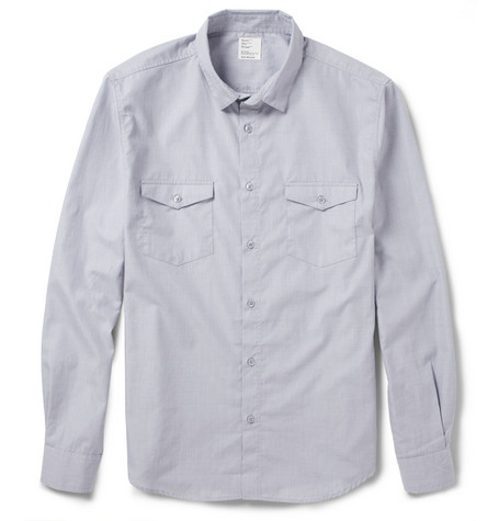 Jean.Machine Noon Slim-Fit Woven-Cotton Shirt