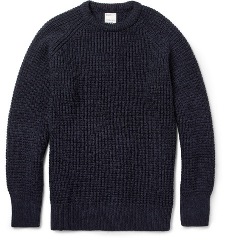Jean.Machine Wonder Waffle-Knit Wool-Blend Sweater