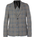 Gucci - Prince Of Wales Check Wool Suit Jacket