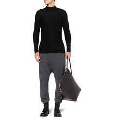 Rick Owens Knitted-Mohair Sweater