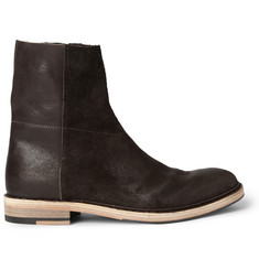 Acne Javier Brushed-Leather Boots