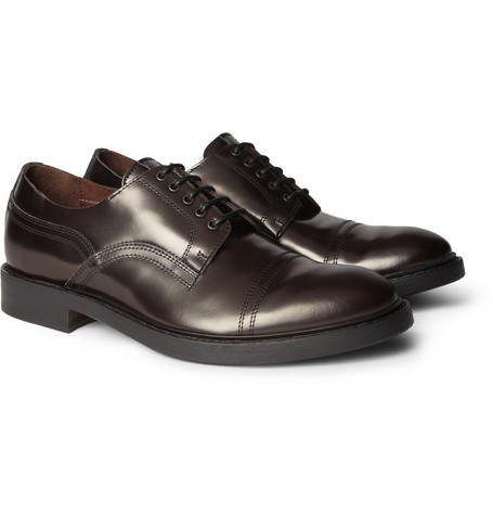 Acne Studios Burnished Leather Derby Shoes