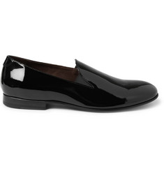 Acne Louis Patent Leather Slippers