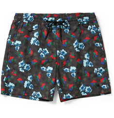 Marc by Marc Jacobs Floral-Print Mid-Length Swim Shorts