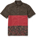 Marc by Marc Jacobs - Short-Sleeved Printed Cotton Shirt