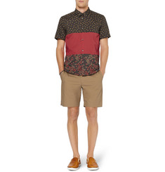 Marc by Marc Jacobs Short-Sleeved Printed Cotton Shirt