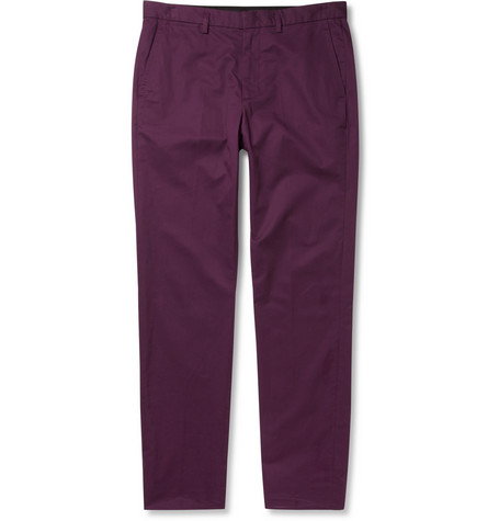Marc by Marc Jacobs Regular-Fit Cotton Trousers