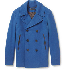 Marc by Marc Jacobs Rushmore Wool-Blend Peacoat