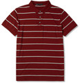 Marc by Marc Jacobs - Seattle Striped Cotton-Jersey  Polo Shirt