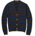 Marc by Marc Jacobs - Striped Merino Wool Cardigan