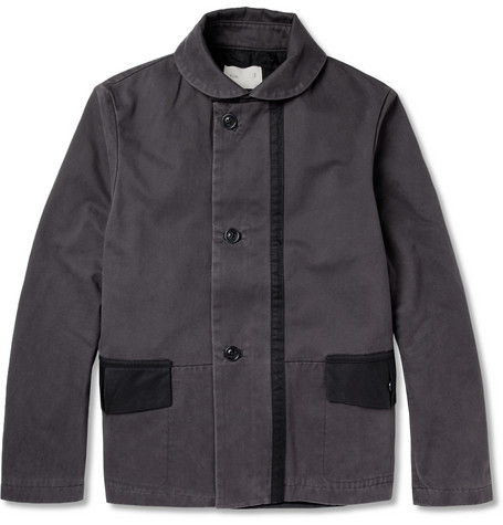 Folk Cotton-Canvas Jacket