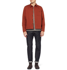 Folk Cotton-Twill Jacket