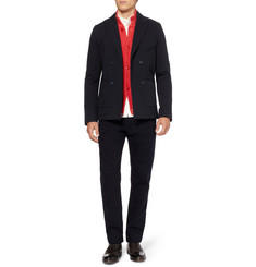Folk Wool and Cotton-Blend Suit Jacket