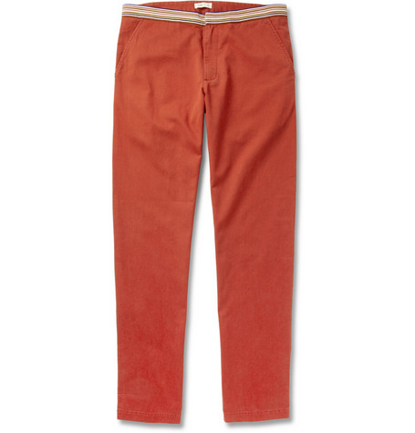 Folk Tom Regular-Fit Cotton-Twill Trousers