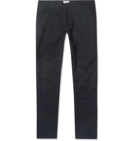Folk Regular-Fit Twill Trousers