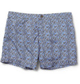 Dan Ward - Printed Short-Length Swim Shorts