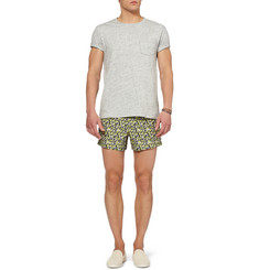 Dan Ward Printed Short-Length Swim Shorts