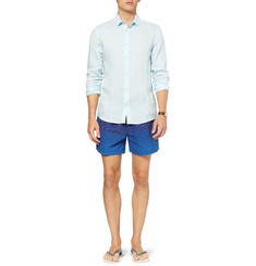Paul Smith Shoes & Accessories Printed Mid-Length Swim Shorts