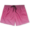 Paul Smith - Printed Mid-Length Swim Shorts