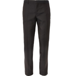 Burberry London Slim-Fit Jacquard-Woven Tuxedo Trousers