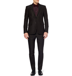 Burberry London Slim-Fit Jacquard-Woven Suit Jacket
