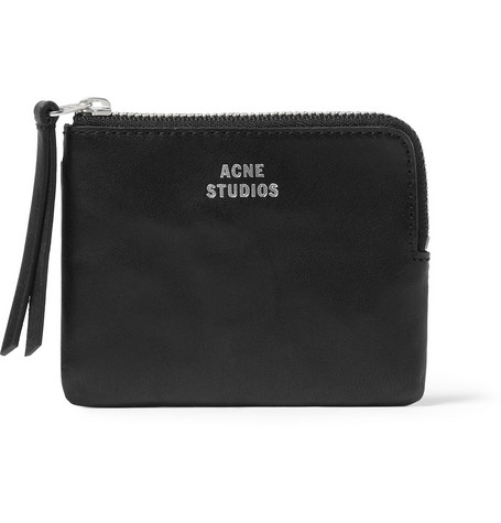Acne Studios Zipped Leather Wallet