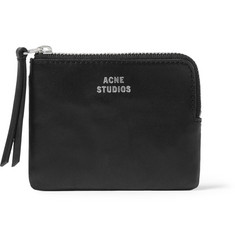 Acne Zipped Leather Wallet